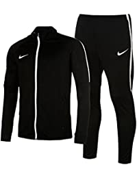 Mens Sports Academy Warm Up 2 Pieces Tracksuit Jacket Bottoms
