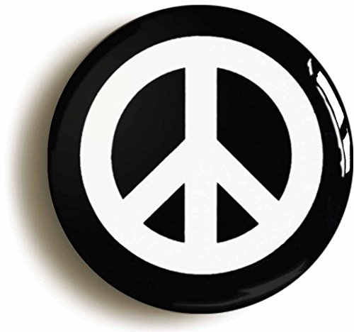 CND CAMPAIGN FOR NUCLEAR DISARMAMENT PEACE BADGE BUTTON PIN (1inch/25mm diameter) by Pin It ()