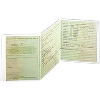 Ausweish/ülle und Schutzh/ülle 57 x 84 f/ür Blutspendeausweis Organspendeausweis Diabetiker