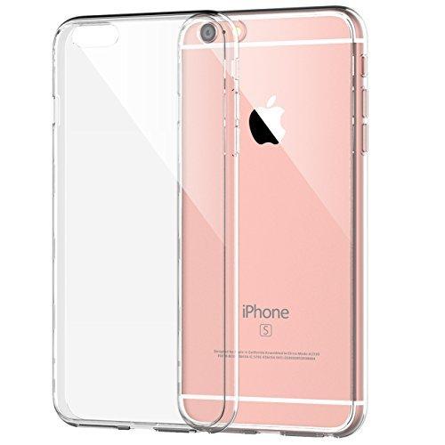 """iPhone 6s Funda, JETech Apple iPhone 6/6s 4.7 Funda Carcasa Case Bumper Tope Shock- Absorción y Anti-Arañazos Borrar Espalda para iPhone 6 4.7"""" (Clara) - 0662"""
