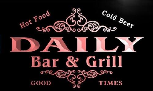 u10086-r DAILY Family Name Gift Bar & Grill Home Beer Neon Light Sign Barlicht Neonlicht Lichtwerbung