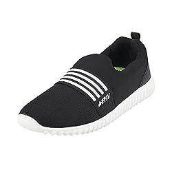 WALKWAY Men BLACK Synthetic Walking Shoes ( SIZE EURO43/UK9 ) ( 252-9406-11-43 )