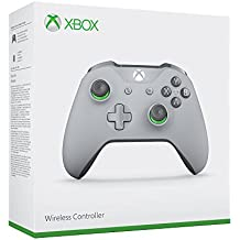 Xbox Wireless Controller, Grey and Green, Special Edition