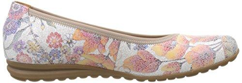 Gabor Shoes Comfort, Ballerine Donna Multicolore (multicolour 38)