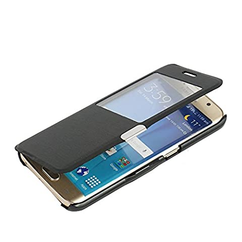 Coque Samsung Galaxy S6 Edge Noir - S6 Edge Coque, Galaxy S6 Edge Coque,