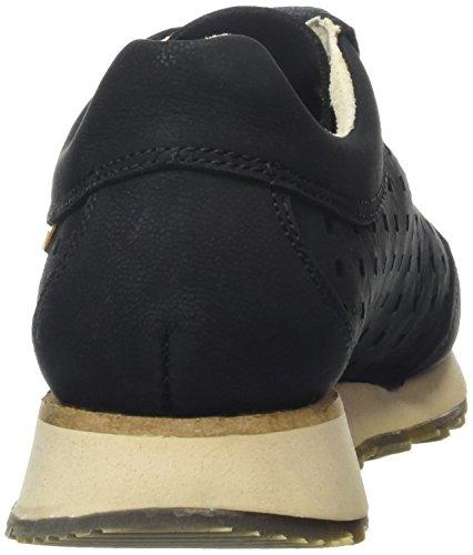 El Naturalista Walky, Baskets Basses Mixte Adulte Noir - Noir