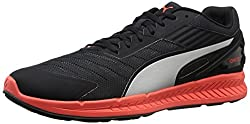 PUMA Men s Ignite V2 Running Shoe Black/Asphalt/Red/Silver 11.5 D(M) US