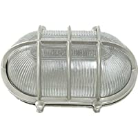 Testudo 250 Paratia ovale lampada da parete all'interno o all'esterno di luce impermeabile marino nautical lampada industriale