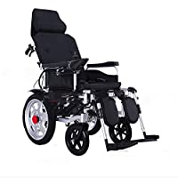 Portable Folding Heavy Duty Electric Mobility Wheelchair,Personal Mobility Aid,360° Joystick,Only 71 Pounds Without Battery,Supports Up To 330 Lbs,Power Wheelchair,Lithiumbattery~12A