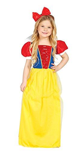 Schneewittchen - Kostüm für Mädchen Gr. 110 - 146, Größe:110/116 (Schneewittchen Kostüm Mädchen)