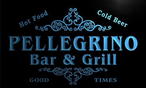 u34468-b-pellegrino-family-name-bar-grill-home-brew-beer-neon-sign-enseigne-lumineuse