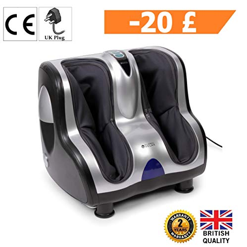Rivenditori Global Relax.Vitalzen Foot And Leg Massager 2019 New Model 3 Massage Systems Vibrotherapy Reflexology And Compression Air 3 Intensity Levels 2 Years
