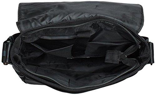 Tom Tailor Acc CAMERON 17201 Herren Umhängetaschen 28x27x8 cm (B x H x T) Schwarz (schwarz 60)