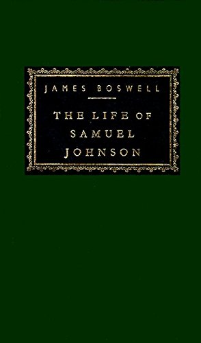 The Life of Samuel Johnson (Everyman's Library) por James Boswell