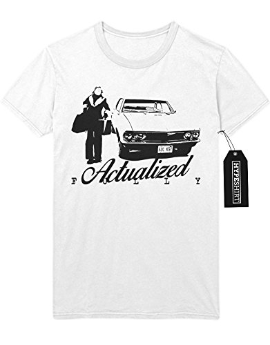 """T-Shirt Fargo """"ACTUALIZED FULLY"""" C980201 Weiß"""