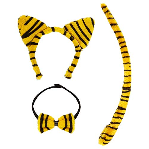 Widmann 5465P - Kostümset Tiger für Erwachsene