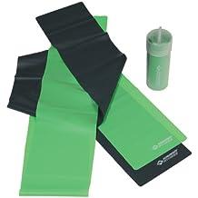 Schildkröt Fitness 960020 Fascie Fitness Latex 2 Pezzi, Verde