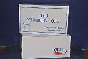 Tasses jetables Communion Boite de 1000