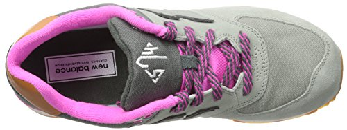New Balance Kl574nwp-574, Sneakers Hautes Mixte Enfant Grey/Pink