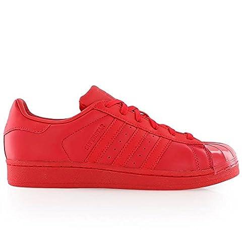 adidas Superstar Glossy Toe Sneaker Damen 7.5 UK - 41.1/3