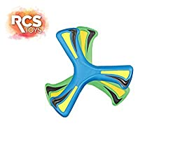 Xoomerang - - Set of 2 Soft Outdoor / Indoor Boomerangs (Colors may vary)