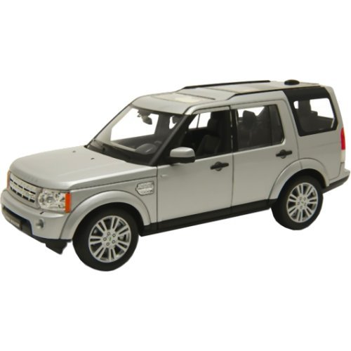 Welly 24008silver - Sammlermodell Land Rover Discovery 4, 1/24 aus Metall, silber