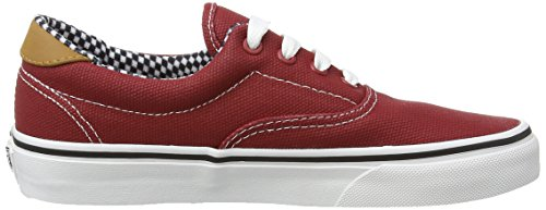 Vans–Era 59CA - Sneakers mixtes Rouge - Red (Waxed Canvas - Chili Pepper)