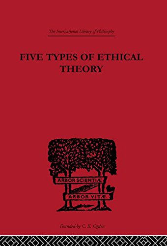 Five Types of Ethical Theory (International Library of Philosophy)