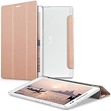 kwmobile Slim Smart Cover Funda Carcasas para Asus ZenPad 8.0 en oro rosa transparente