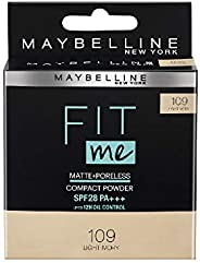 Maybelline Fit Me Compact, Light Ivory, 8 g
