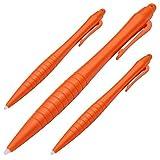 takecase–3Extra Große Stylus Stifte für New Nintendo 3DS XL, 3DS, 2DS und WII U–3Pack Orange