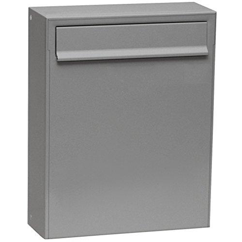 Max Knobloch Zaunbriefkasten Fargo I graualuminium (RAL 9007) 8 Liter