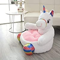 Pelande Armchair Child Sofa Unicorn Cushion Cartoon Animal Chair Home Decoration Bedroom Furniture