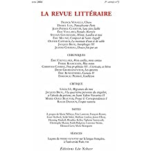 La Revue Littéraire n° 3