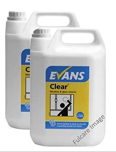 2-x-evans-vanodine-clear-finish-window-glass-and-stainless-steel-cleaner-5ltr-containers