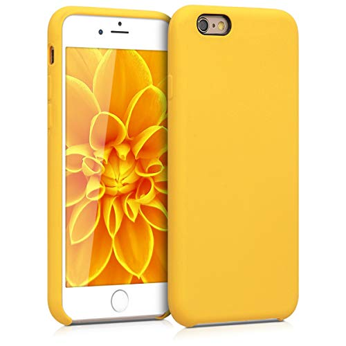 kwmobile Apple iPhone 6 / 6S Hülle - Handyhülle für Apple iPhone 6 / 6S - Handy Case in Honiggelb