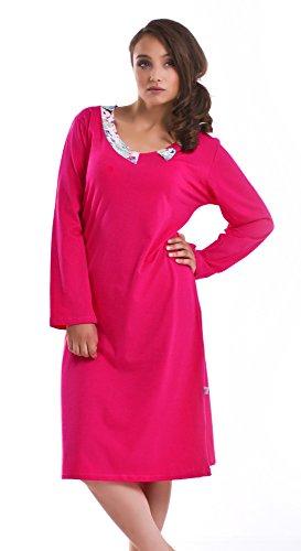 dn-nightwear - Chemise de nuit - Femme Rose - Rose