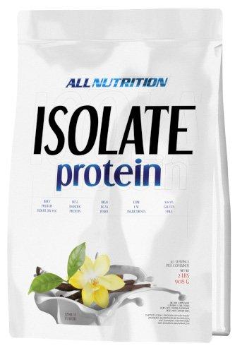 ALLNUTRITION Isolate Protein Eiweiß Shake Molkeprotein Pures Isolat Bodybuilding 908 g (Chocolate - Schokolade) -