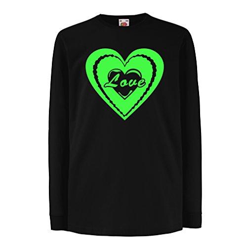 Kinder-T-Shirt mit langen Ärmeln