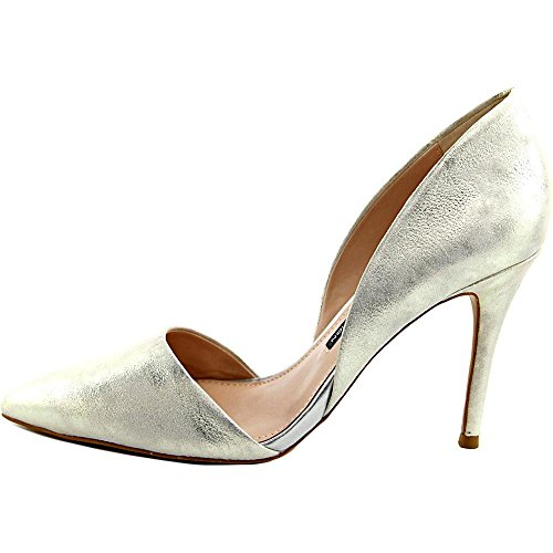 French Connection Elvia Cuir Talons silver