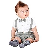 EXQULEG Baby Kinder Klettverschluss Knieschoner Krabbelhilfe Ab 0 bis 5 Jahre alt mit Farbwahl