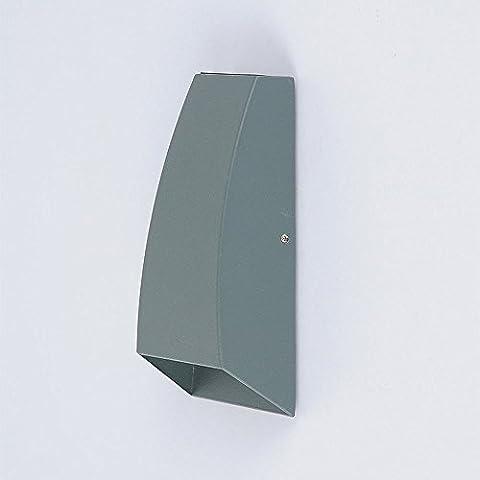 ycwl Moderne einfache LED Outdoor Wasserdicht Lampe Schlafzimmer Nachttisch Wand Lampe eckig Innenhof Tür Lichter