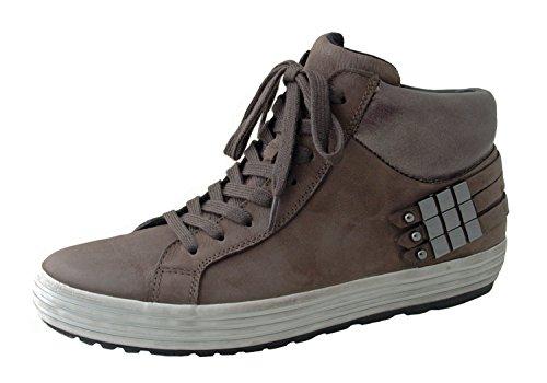 Gabor Donna Sneaker Rodi 36.434.49 vulcano in pelle nabuk marrone, tacco a circa due centimetri, larghezza G, formato 37-40,5 braun