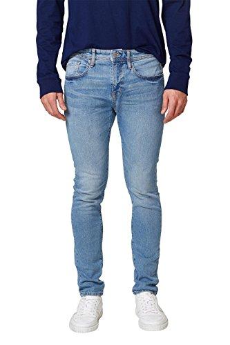 edc by ESPRIT Herren Skinny Jeans 028CC2B006, Blau (Blue Light Wash 903), 36/34