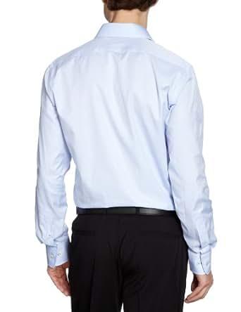 Matinique Herren Businesshemd D40127001Z/Crosmal, Gr. 48 (S), Blau (21E Heaven)