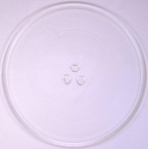 Mikrowellenteller / Drehteller / Glasteller für Mikrowelle # ersetzt Gaggenau Mikrowellenteller # Durchmesser Ø 32 cm / 320 mm # Ersatzteller # Ersatzteil für die Mikrowelle # Ersatz-Drehteller # OHNE Drehring # OHNE Drehkreuz # OHNE Mitnehmer