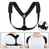 CGBOOM Verstellbare Haltungskorrektur Rücken Geradehalter Körperhaltung Korrektor Oberen Rücken Schulter Rückenbandage Rückenstützgürtel für Damen und Herren