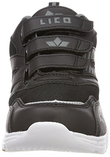 Geka Streetball V, Sneakers Basses Homme Noir (Schwarz/grau Schwarz/grau)