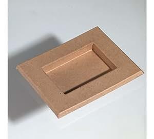 bilderrahmen karton zum basteln bemalen und gestalten 18 5x15cm k che haushalt. Black Bedroom Furniture Sets. Home Design Ideas
