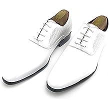 c5888d123c7 Zapatos Oxford Hombre Fiesta Charol con Cordones para Vestir de Negocios  Boda Traje Formal